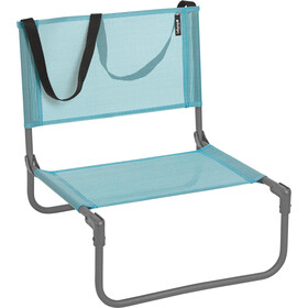 Lafuma Mobilier CB Beach Chair with Cannage Phifertex, lac